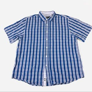 NAT NAST Mens L American Fit 100% Cotton Button up
